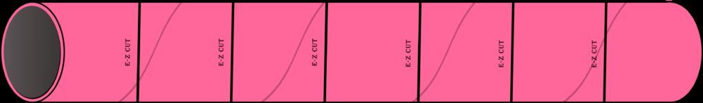 EZ Cut Concrete Form Tube